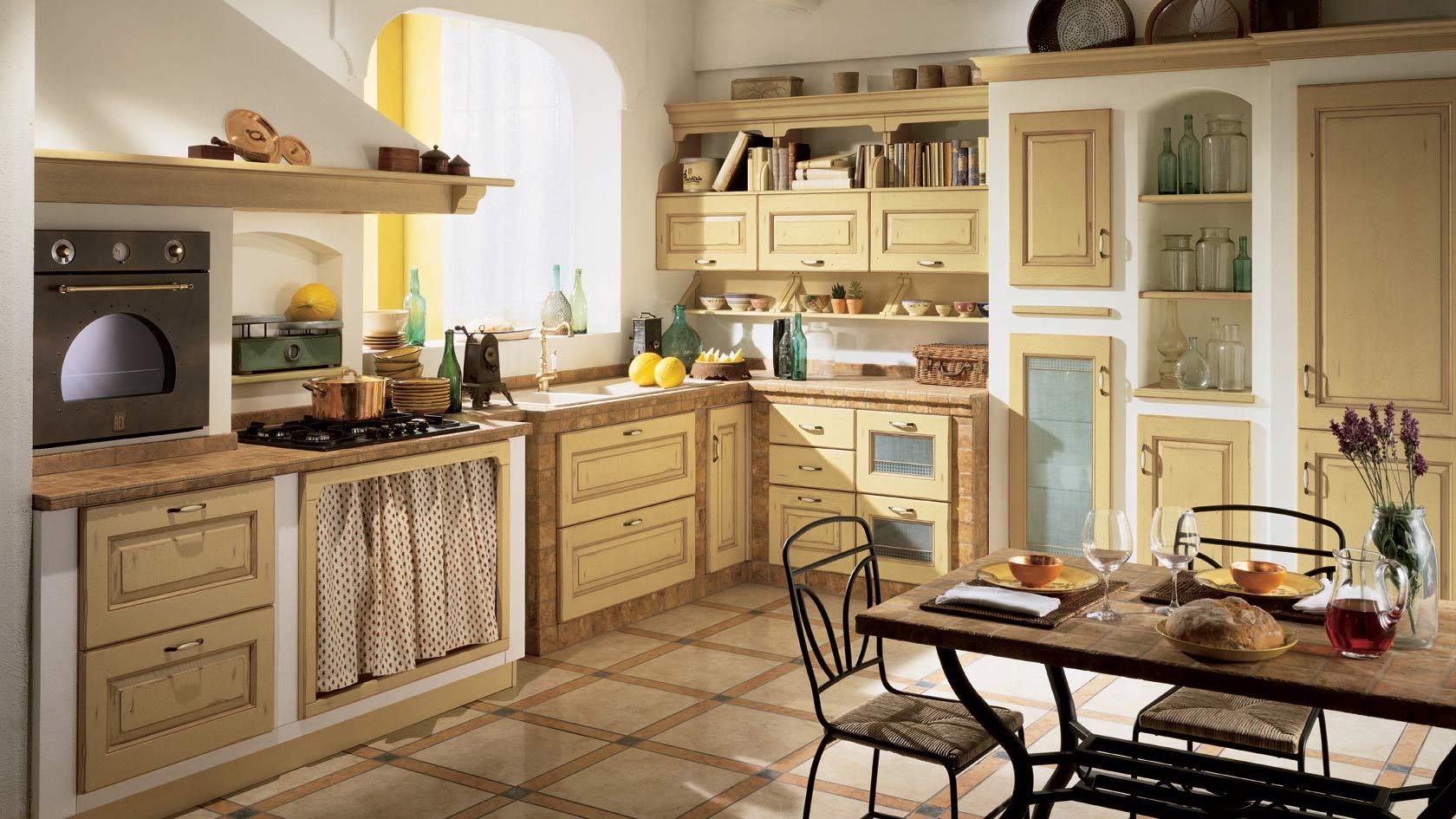 Come Rinnovare Una Cucina. Rinnovare Cucina In Legno With Come ...