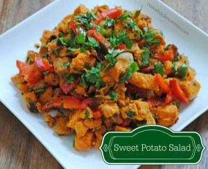 Healthy Recipe - Sweet Potato Salad