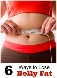 6 ways to lose belly fat