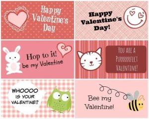 Valentine Printable for kids
