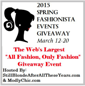 spring fashionista giveaway
