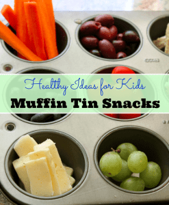 "Muffin Tin Snack Trays for ""Snack-to-School"""