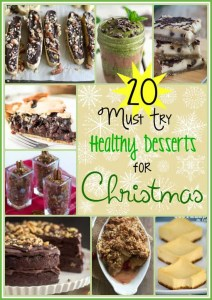 20 Must Try Healthy Christmas Desserts
