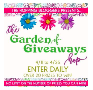 Garden of Giveaways Hop – 2 Great Prize Choices for YOU!