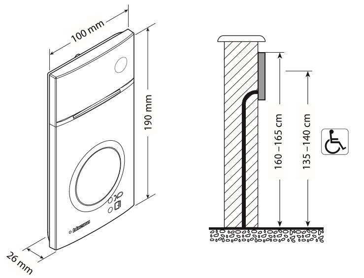 4 pin handset wiring diagram