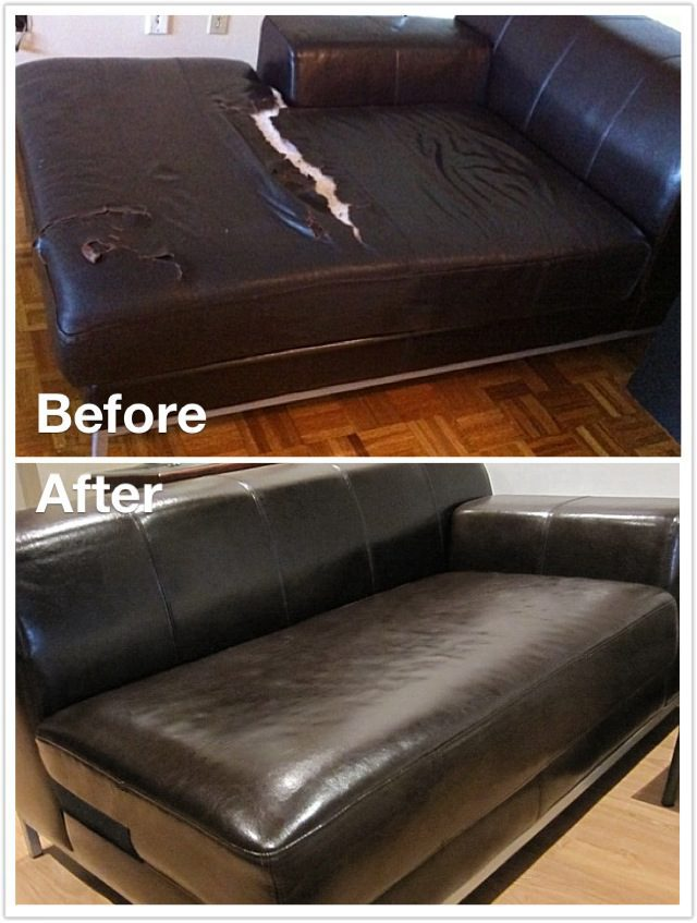 Couch Cushion Covers Leather
