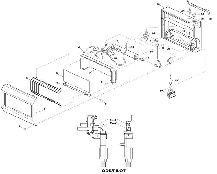 fireplace gas valve wiring