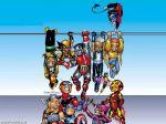 Mini Avengers Wallpaper