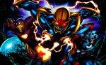 Iron Man, NOVA, Captain America