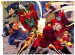 super hero battle!