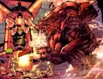 Rhino Panel from Uncanny X-men #435