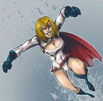 Powergirl colors by Baftoony