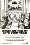 American Heart Association Batman Advertisement