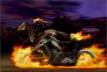 Ghost Rider pin up