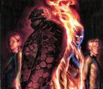 Fantastic Four Pin Up