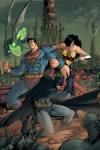 Superman, Wonder Woman, Batman, Green Lantern, Flash