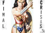 Wonder Woman Final Crisis #5 cover pin-up