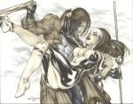 Gambit & Rogue by Basaldua