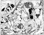 JLA & Avengers vs Dark Phoenix by Byrne