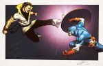 Karate Kid vs Captain America