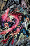Psylocke vs Death (Wolverine as 1 of the 4 Horsemen)