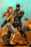 Scarlett & Snake Eyes by Seeley