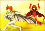 White Queen vs Scarlet Witch