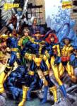 X-Men team (Blue & Yellow) poster 2