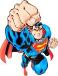 superman fist to your face