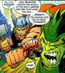 Thor Love Sponge Bob Square Pants