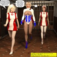 Powergirl Mind Controlled