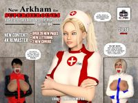 New Arkham for Superheroines 2nd edition