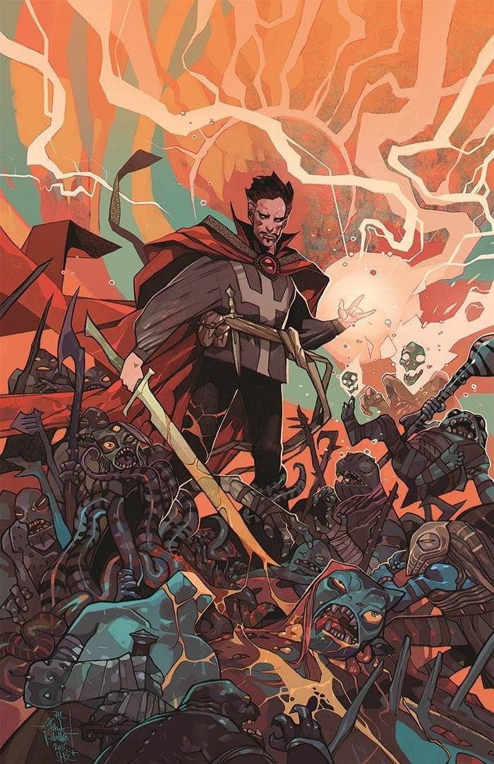 Doctor Symbol Hd Wallpaper First Look Doctor Strange 1 By Aaron Amp Bachalo