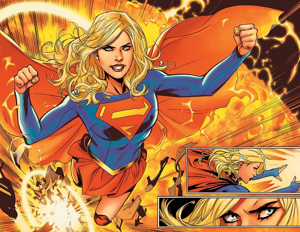 First Look At Supergirl 1 Supergirl Rebirth 1 From
