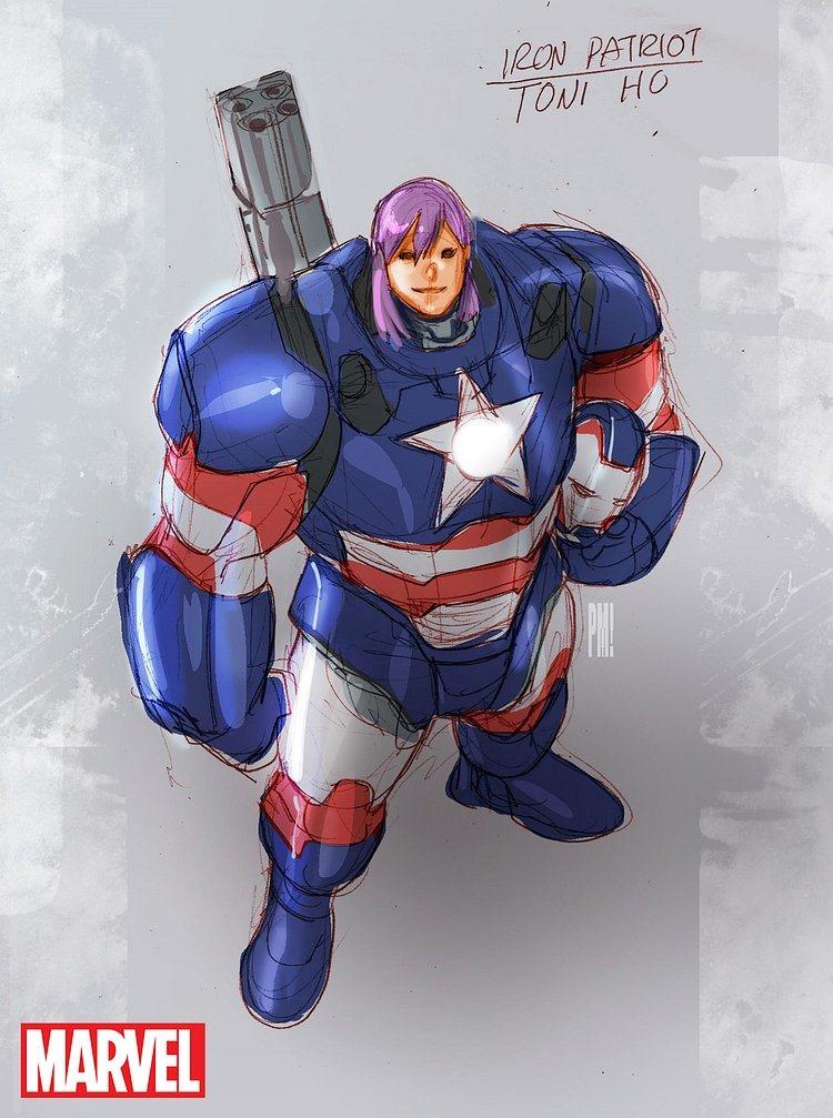 Guitar And Girl Wallpaper Marvel Comics Debuts U S Avengers This December