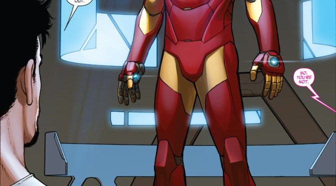 Comic Book Noise 653: Invincible Iron Man #1 and Captain America