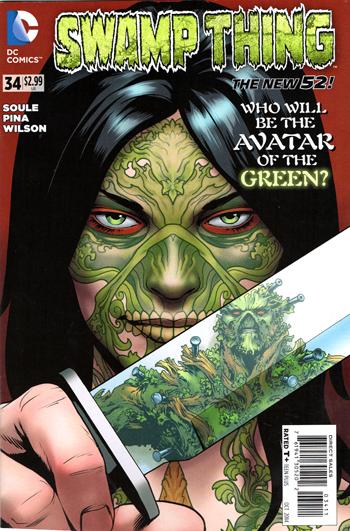 Swamp Thing #34