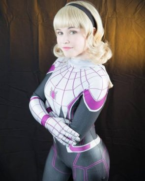 Ashton on Instagram SDCC is approaching Tomorrow I will be posting my line up For now here is some Spider Gwen for your Saturday night