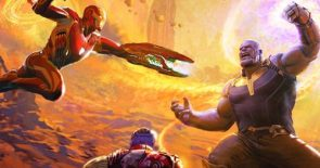 Avengers Infinity War Art of the Movie Cover Revealed