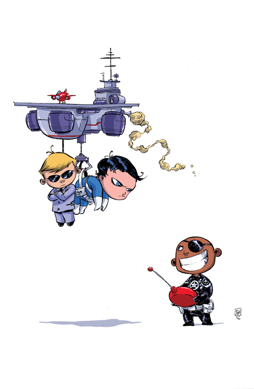 Chibi Hulk Cute Wallpaper Skottie Young Draws Variant Cover For Marvel Now Point One