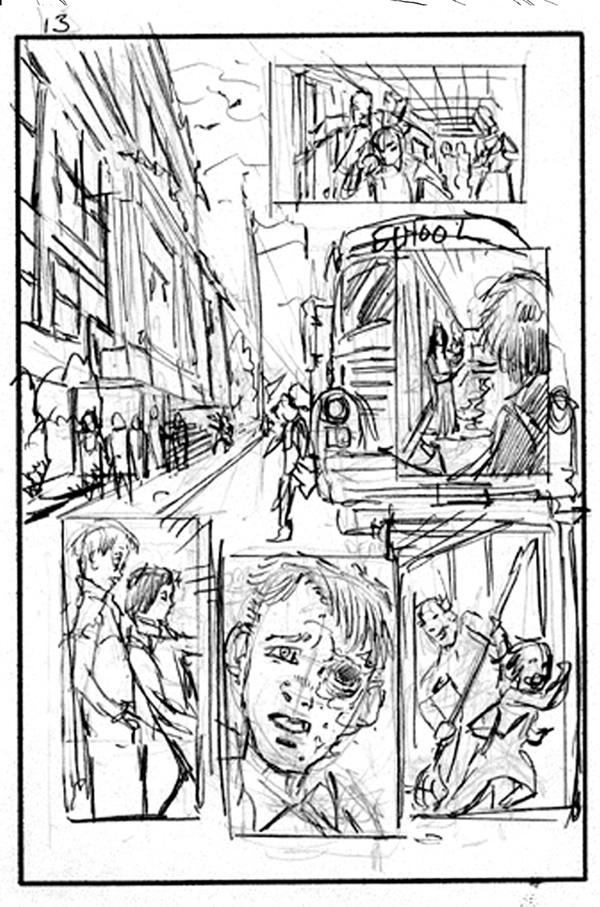 Storyboard - Comic Storyboard