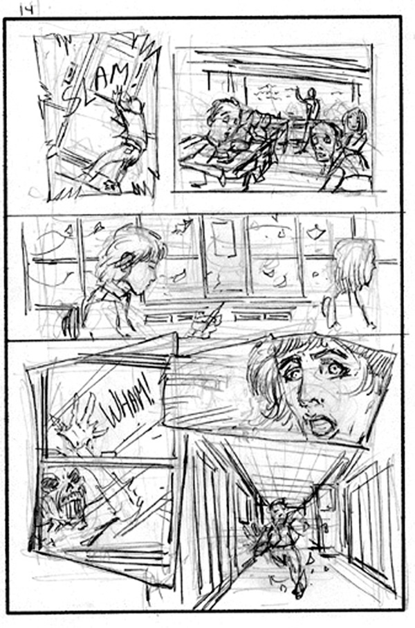 Perfect Comic Book Storyboard Template Vignette - Examples