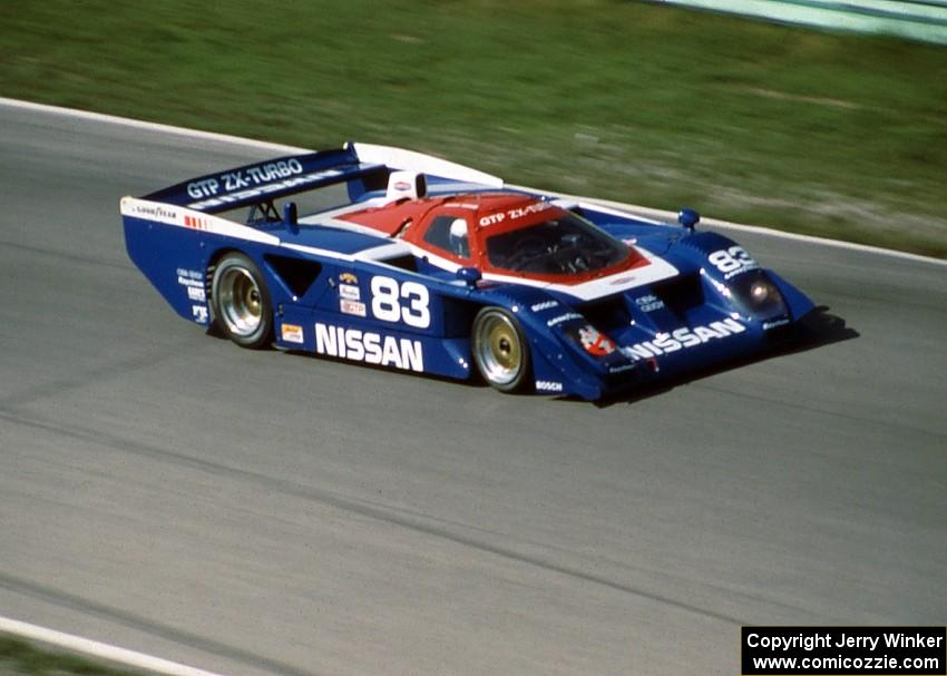 Car Wallpaper Slideshow Geoff Brabham Chip Robinson Nissan Gtp Zx T