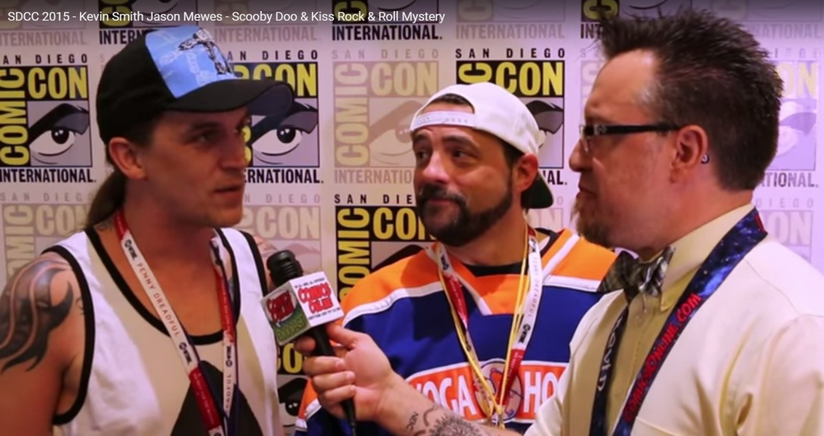 SDCC 2015: Interview with Kevin Smith and Jason Mewes (Scooby Doo! & KISS: Rock and Roll Mystery)