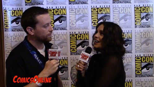 SDCC 2016: Interview with Vanessa Hudgens (Powerless, High School Musical)