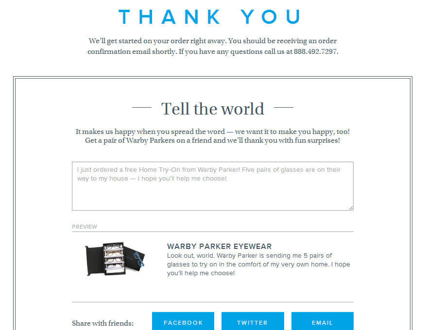 5 Clever Ways to Use Your Thank You Pages - Comm100 Blog - thank you for your business email