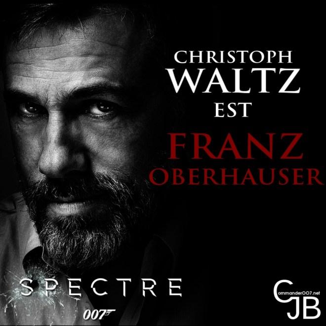 Christph Waltz, le nouveau visage d'Oberhauser