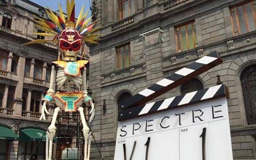 20 Mars, le tournage du pré-générique de SPECTRE commence à Mexico
