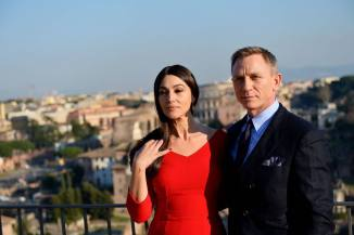 ITALY-ENTERTAINMENT-CINEMA-JAMES BOND-SPECTRE