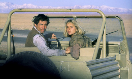 """""""- C'est quand même beau l'Afghanistan. - Mais non James, c'est au Maroc que tout le film est tourné"""""""